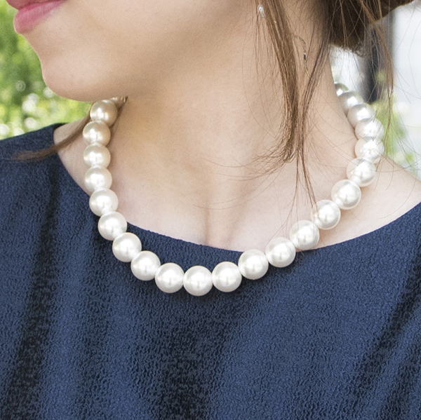 14mmパールネックレス【Loire 14mm pearl necklace】