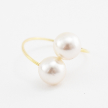 パールキャッチイヤリング【Limon pearl catch clip on earlings】