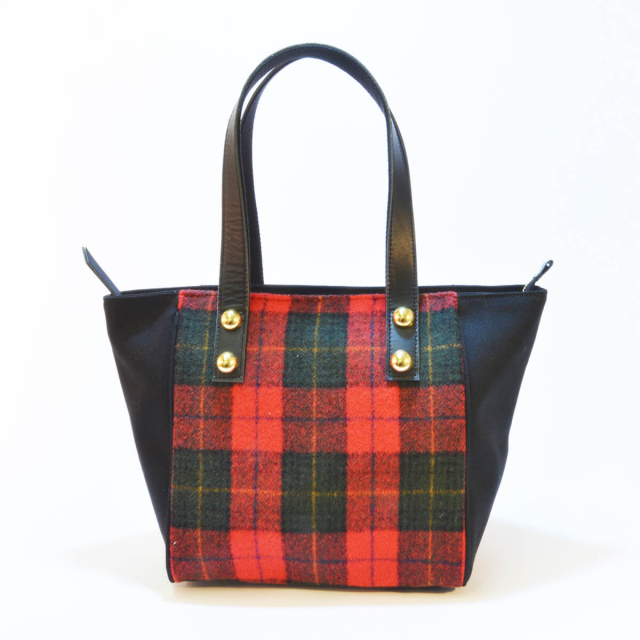 【U】ガーズタータンバッグ【Guards tartan checked pattern Bag】