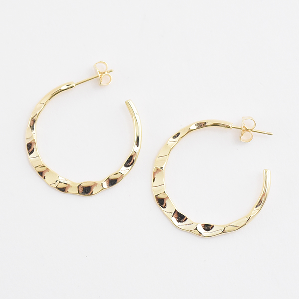 ムーンピアス【Nades moon pierced earrings】